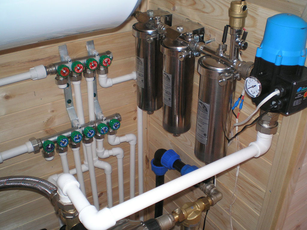 Система водоснабжения загородного дома своими руками 25